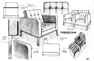 Student Work Design Drawing